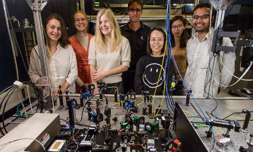 The quantum simulator team at the University of Copenhagen